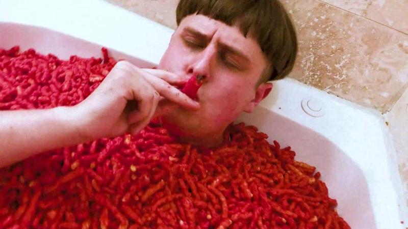 Oliver Tree - Movement [Hot Cheetos Bath Challenge]