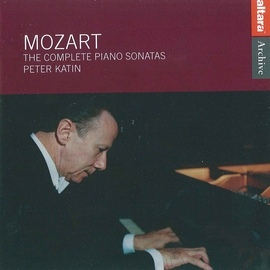 Wolfgang Amadeus Mozart альбом Mozart: The Complete Piano Sonatas - Peter Katin