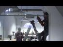 Cách lắp đặt cửa kính treo lùa