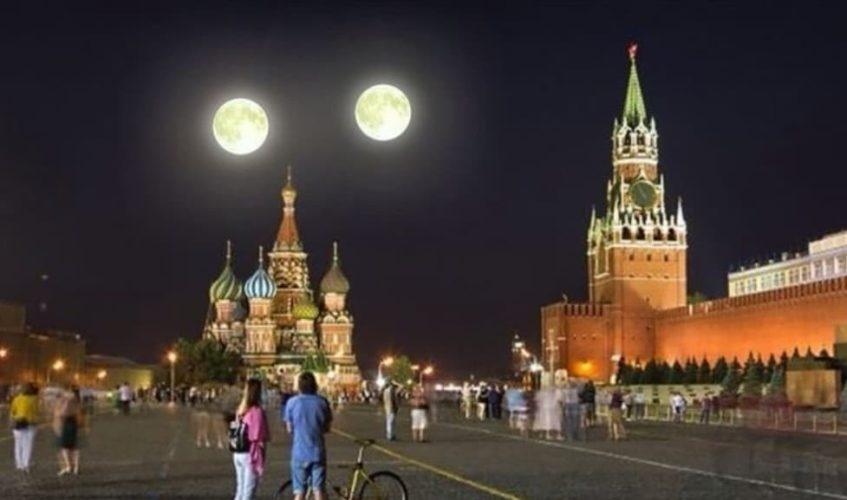 Две луны на небе: что это за явление и когда оно происходит изоражения