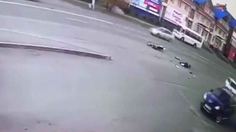 В Ангаре ищут очевидцев смертельного ДТП с участием мотоциклиста.