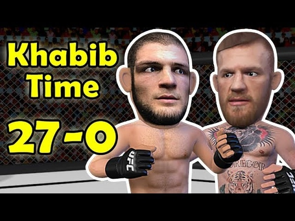Khabib Nurmagomedov chokes out McGregor After a mauling - UFC 229