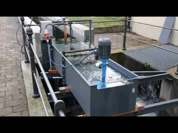 Microhydro Installation in Germany (Low Head turbine)