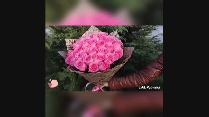25 розовых