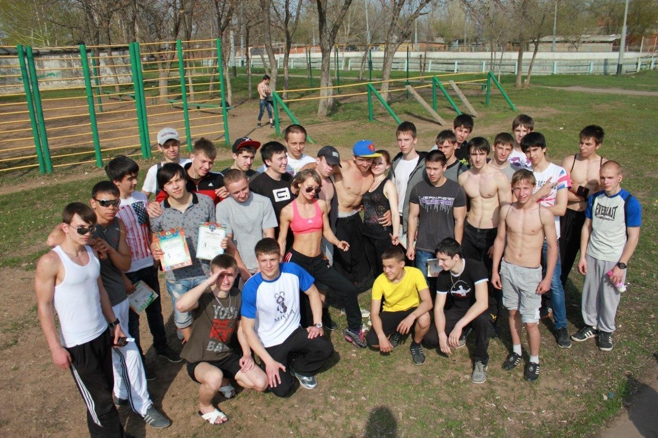 Открытые городские соревнования по «Уличной гимнастике» в Саратове