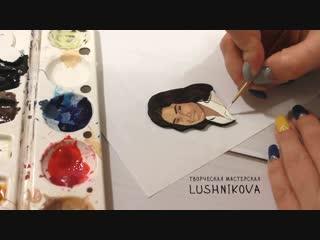 Рисую портрет (простой)