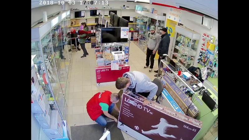 В магазине Hi Tech в Черкассах обокрали продавца