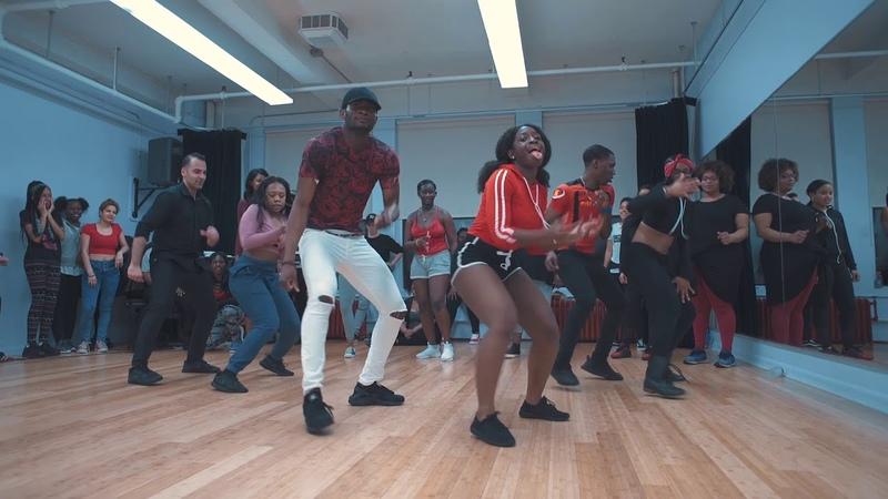 Ag Da Profit Zico Meka Oku Marjo Bona Choreography NYC AFRO Class