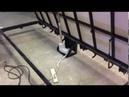 Напольный люк с электроприводом