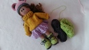 How to crochet doll shoes Simple booties