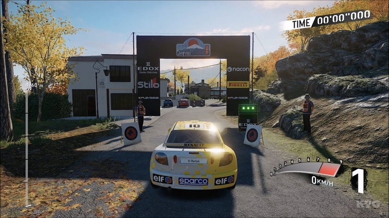 V-Rally 4 - Renault Megane Maxi - Gameplay (PS4 HD) [1080p60FPS]