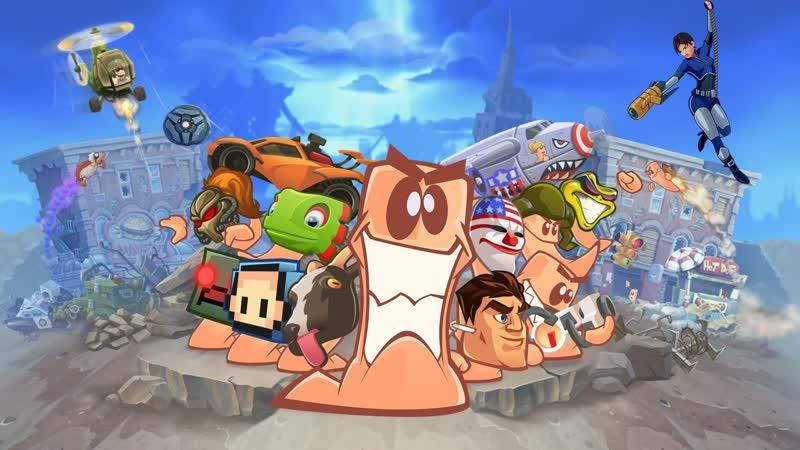 Worms W.M.D - Игры с подписчиками :)
