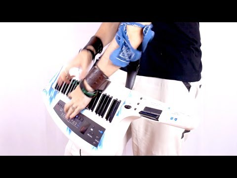 JOE ATLAN - INSANE Keytar solo (Galneryus - Tear Off your Chain)