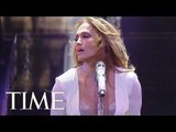 Jennifer Lopez Performs Drake's 'Teenage Fever' &amp More Hits At The TIME 100 Gala TIME 100 TIME