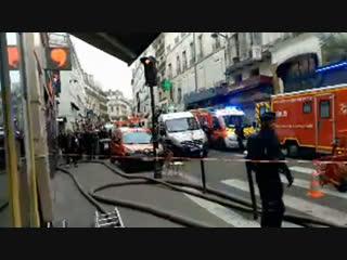 Мощный взрыв прогремел в Париже | 12 января | День | СОБЫТИЯ ДНЯ | ФАН-ТВ