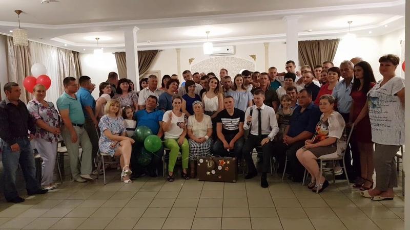Николай Горобец - Проводы в армию 24 июня 2018