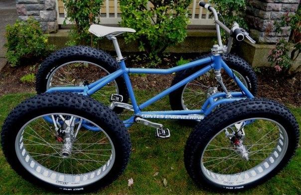 Четырёхколёсный велосипед своими руками фото
