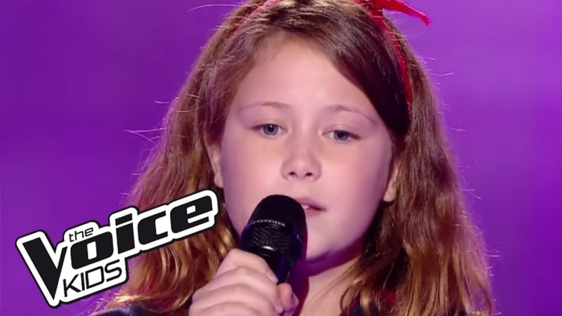 Je vais t'aimer Michel Sardou Eva The Voice Kids France 2017 Blind Audition