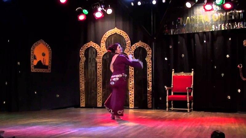 Saidi dance (Salam) -- Morgana at ODF Festival, Krakow