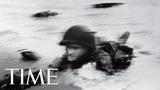 D-Day Behind Robert Capa's Photo Of Normandy Beach 100 Photos TIME