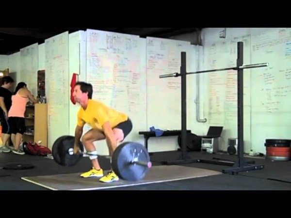 CrossFit - WOD 111004 Demo with Aja Barto and Jared Davis