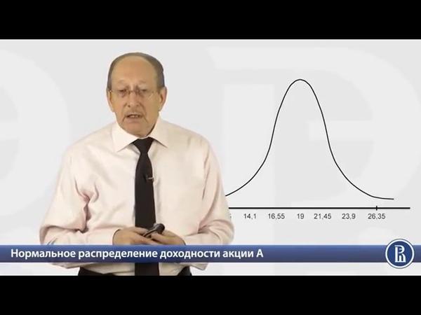 3 3 Пример определения дисперсии и стандартного отклонения доходности акций комп