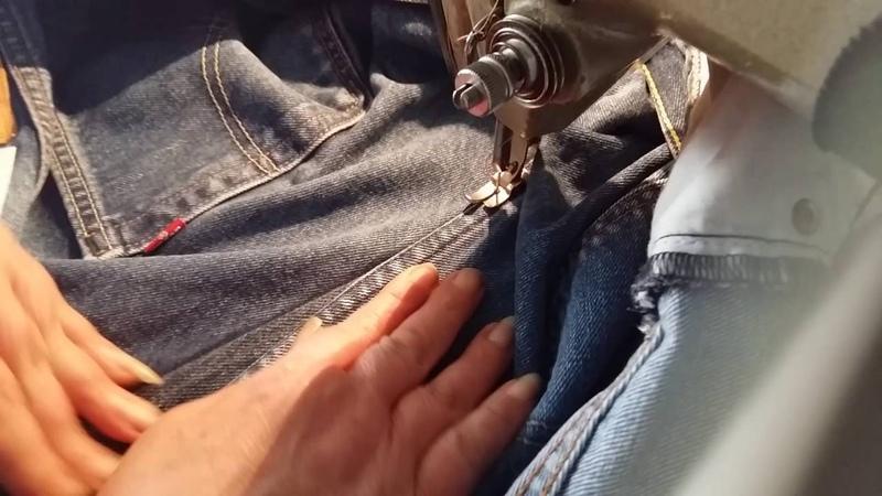 Neues aus der Textilwerkstatt : Jeans weiter machen