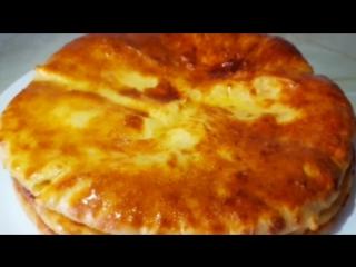 Хачапури. Лепёшки с сыром, цыганка готовит. Gipsy cuisine
