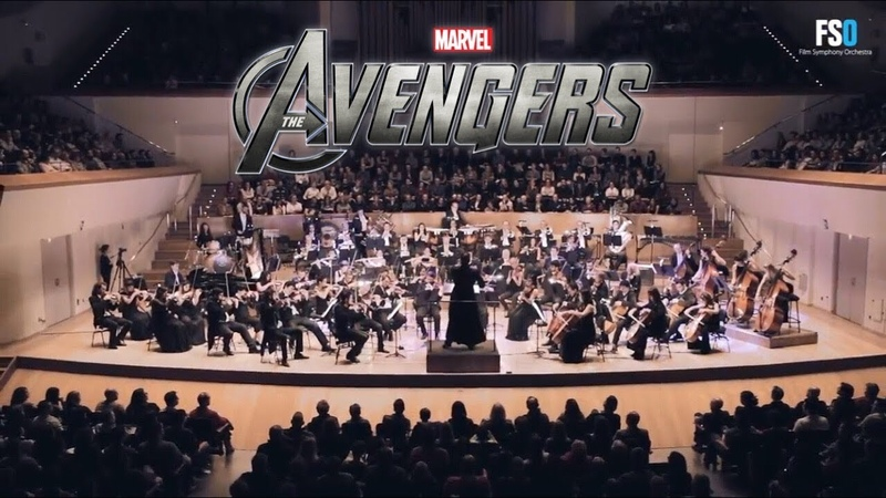 映画『アベンジャーズ』 テーマ曲 オーケストラ - The Avengers