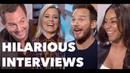 LEGO MOVIE 2 Funny Cast Interviews: Chris Pratt, Elizabeth Banks, Will Arnett, Tiffany Haddish