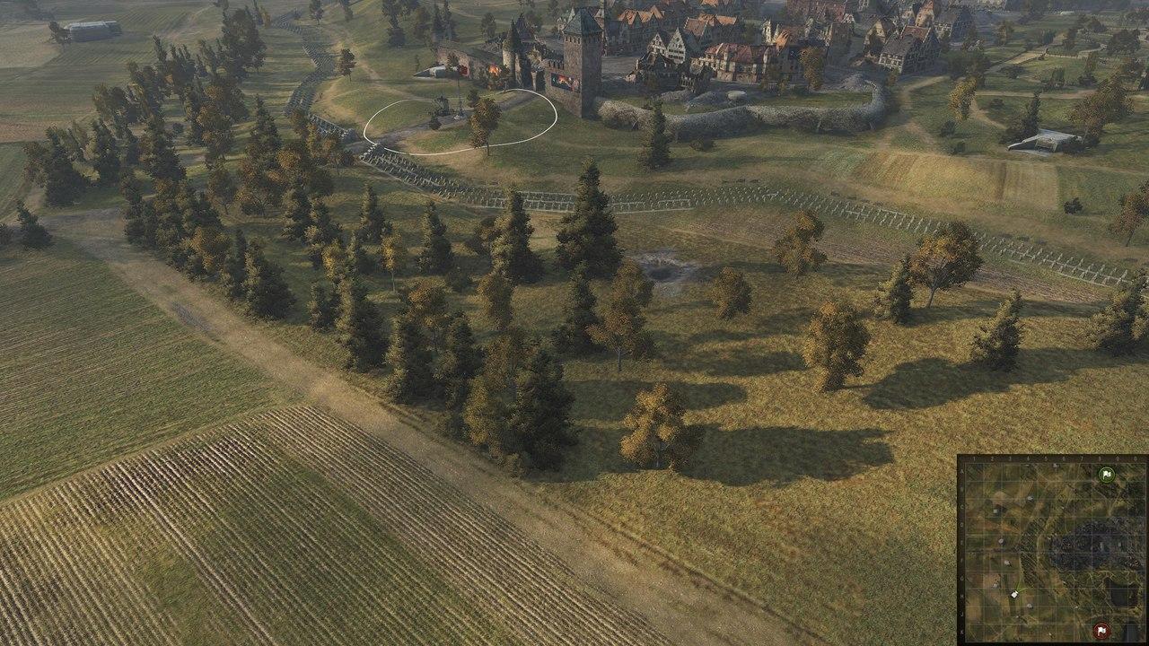Изменения на карте «Линия Зигфрида»