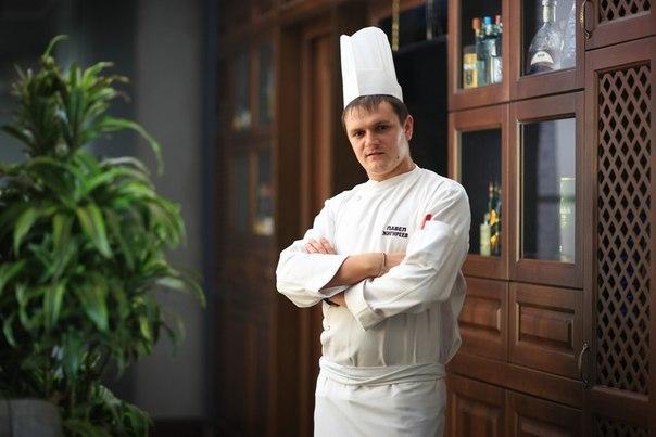 Шеф-повар Павел Строганов