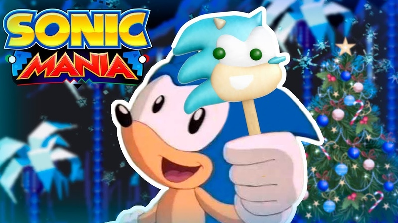Sonic Mania - Snow Hill Zone Sonic the Popsicle Mod (обзор мода)