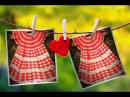 Детское платье крючком МК часть 2