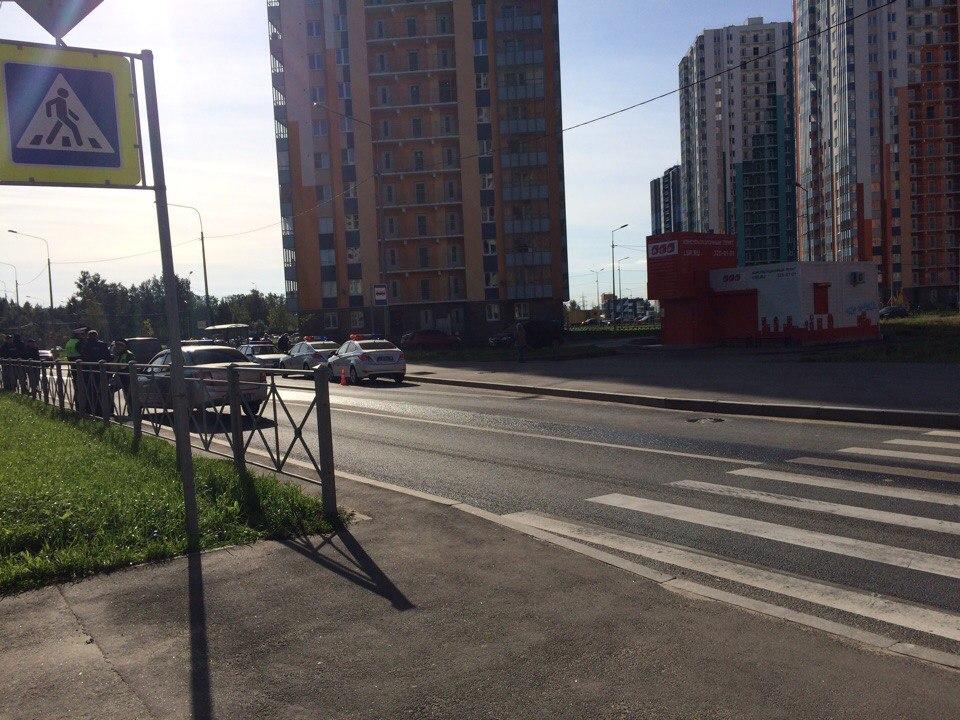 ВПетербурге автомобиль сбил трёхлетнего ребёнка напешеходном переходе