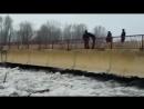 Мост, Паводки, ВКО, Зыряновск, Затор льда 31.03.2018