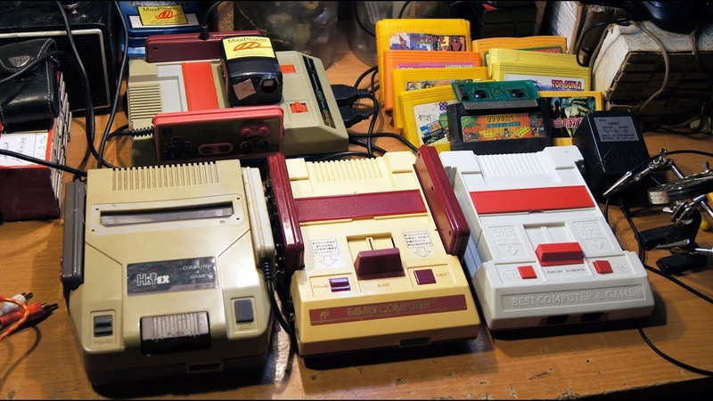 3 DENDY и много, много пайки. Часть 2. Famicom. (перезалив)