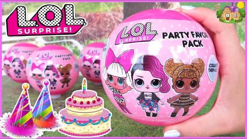 LOL Sorpresas de Agradecimiento para Fiestas de Cumpleaños LOL Party Favor Pack
