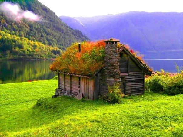 Домик в Норвегии.