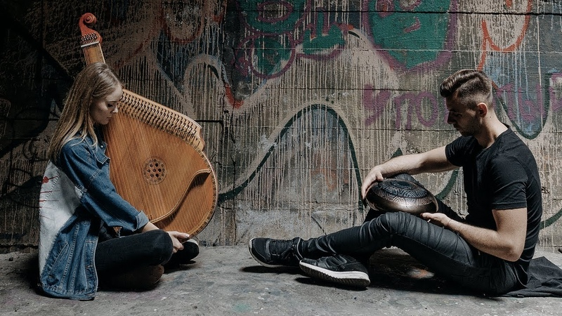 Requiem for a Dream - Soundtrack (Bandura Hang) Happy Drum ( Instrumental Cover Music 2018) RELAX