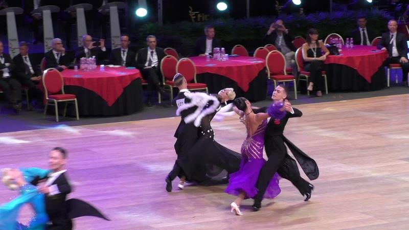 WDSF GrandSlam Rimini semifinale viennese Sodeika