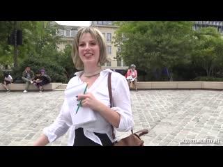 Дал денег и трахнул француженку в анал и киску, big tit boob porn french sex anal fuck money busty girl milf cum (hot&horny)