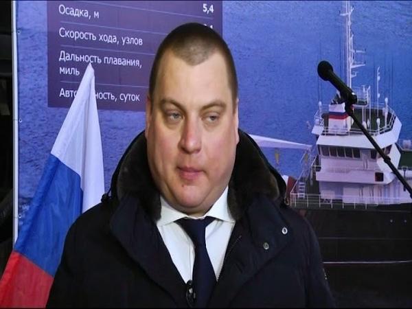 На Рыбинском судостроительном заводе заложили второе гидрографическое судно