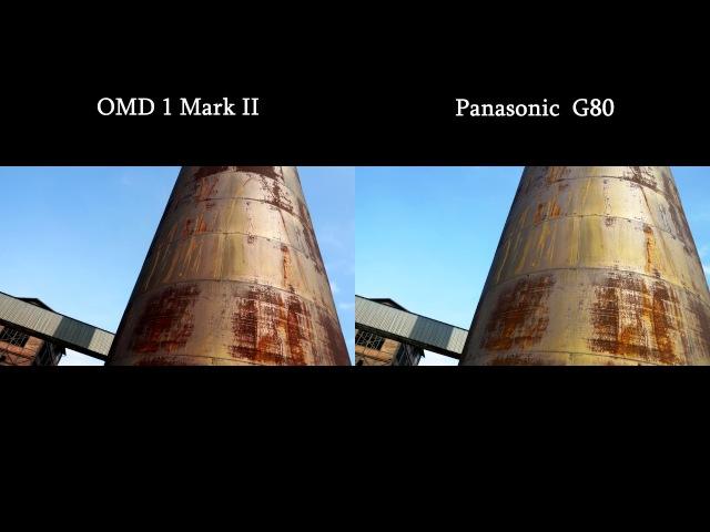 OM-D EM-1 MKII vs. Panasonic G80 / first shots