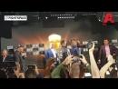 Стердаун Гассиева и Усика на пресс конференции