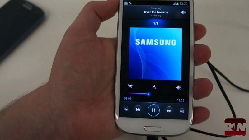 Знакомство с Samsung Galaxy S III