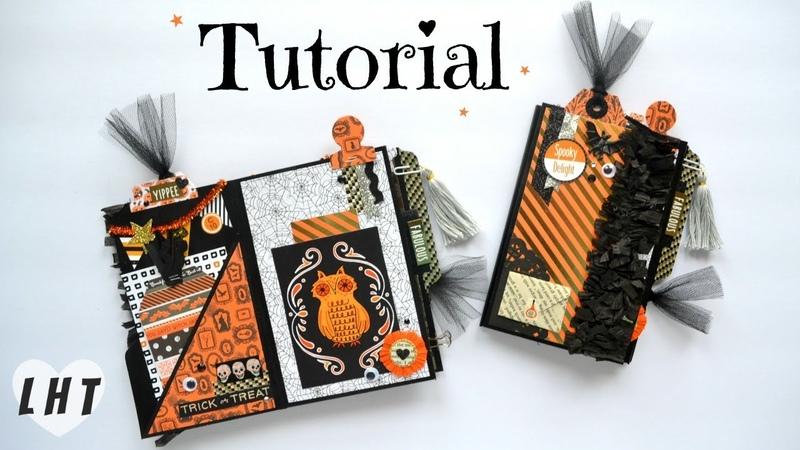 File Folder Mini Album Tutorial - Little Hot Tamale - Diy FIle Folder Flipbook