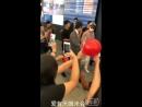 20 07 2018 Тайвань аэропорт Горячая встреча