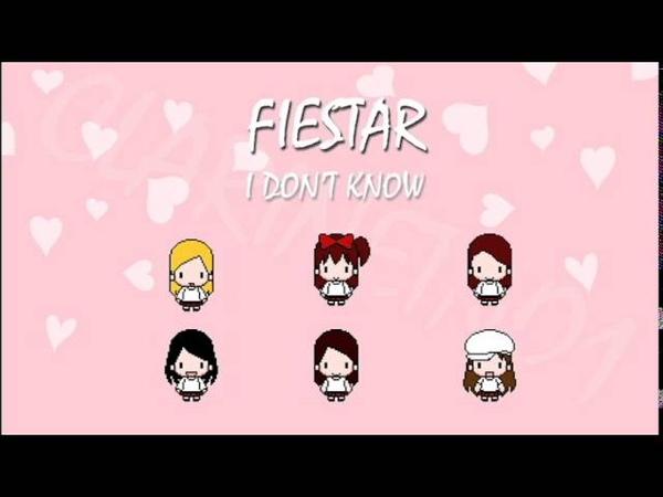 FIESTAR - I Don't Know (8-Bit)