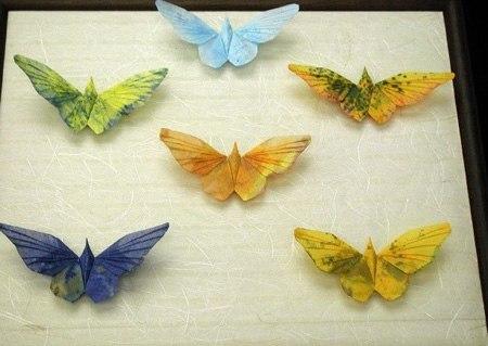 Бабочки-оригами. МК и схемы